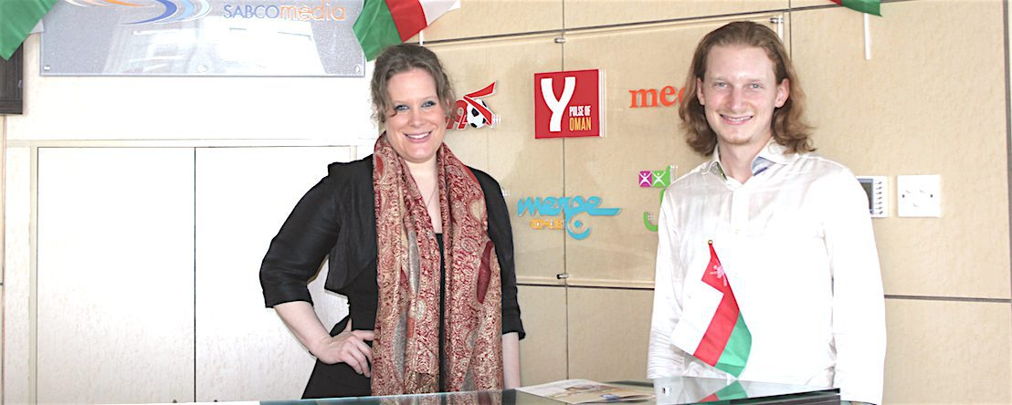 Swiss Artists promoting their music in Oman