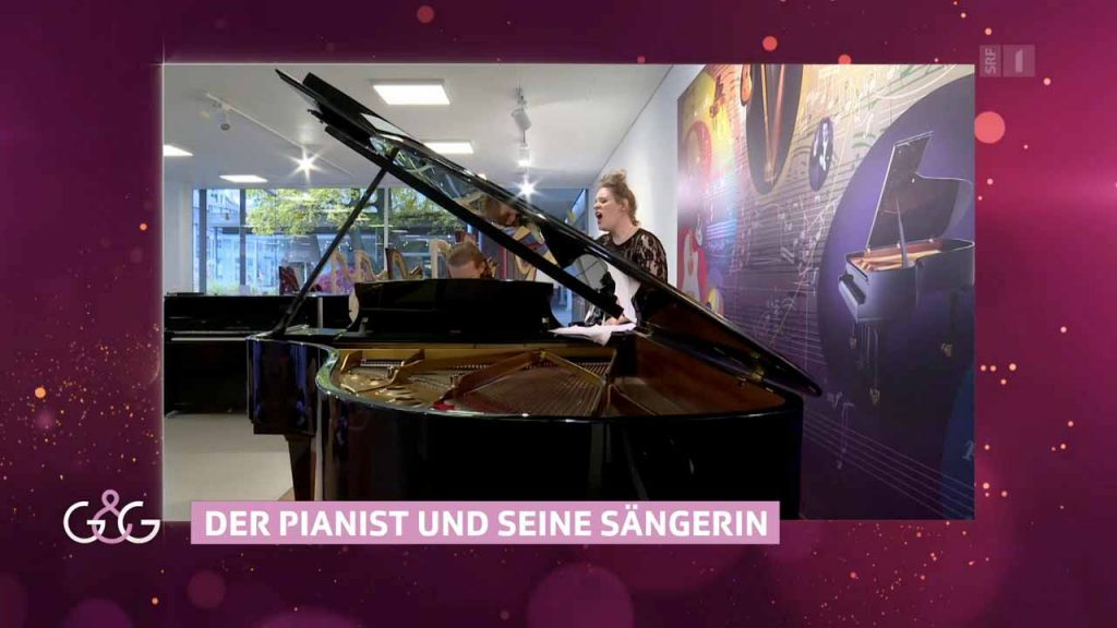 """Dust of Soul in Swiss National TV station SRF 1 show """"Glanz & Gloria"""""""