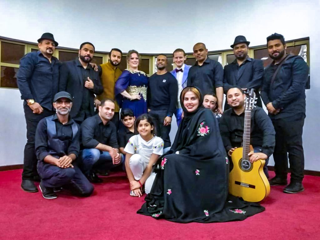 Swiss and Omani fusion musical debut