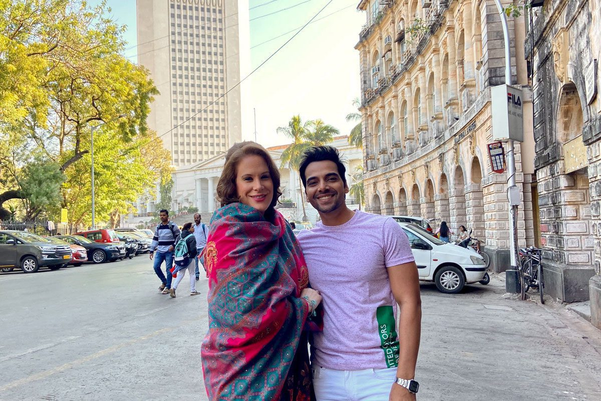 Swiss artists with two music video Shootings in Mumbai