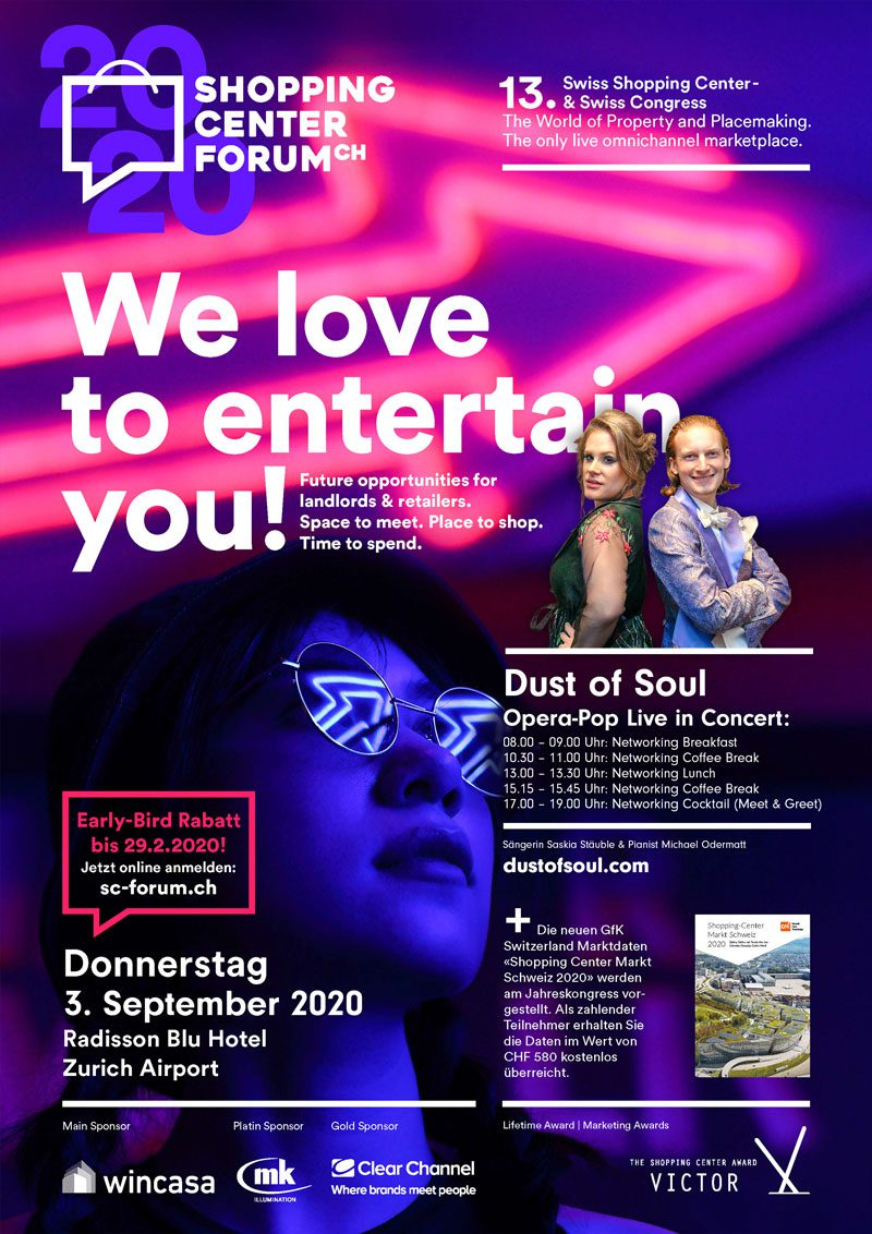 Opera-Pop Live in Concert at Shopping Center Forum 2020