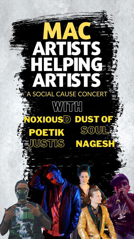 Artists Helping Artists Social Cause Concert